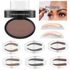 Natur Augenbrauen Pulver Make-up Stempel Palette wasserfest Schatten definieren