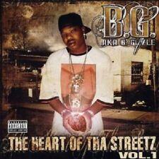 B.G. AKA B.GIZZLE 'THE HEART OF..VOL.1' CD NEW+