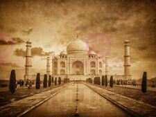 PHOTOGRAPH LANDMARK  TAJ MAHAL AGRA INDIA ART PRINT POSTER MP3481A