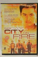 City on Fire chow yun-fat ntsc import dvd English subtitle