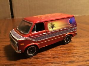 1975 Chevy custom van racing champions 1:64 Custom paint 1 of 2,000 loose