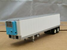 dcp white tandem axle 40ft reefer trailer new no box 1/64