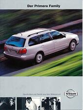 Nissan - Primera Family  - Prospekt  - 07/2000  - Deutsch - nl-Versandhandel