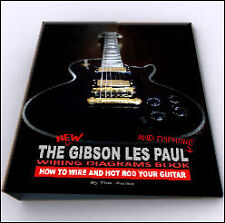 Gibson Les Paul Epiphone Guitar Wiring Harness Kit Cd