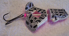 UNKNOWN BUZZ TAIL FROG  LURE  UN-USED ITEM #29 WHITE PINK   12/22/15