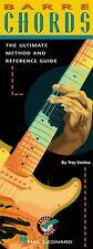 Troy STETINA barre chords progression apprendre à jouer de la musique Méthode de Guitare Livre