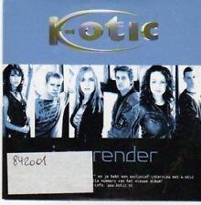(BG471) K-Otic, I Surrender - 2002 CD