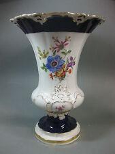 Meissen 1 Wahl Vase Kobalt Gold Entwurf Leuteritz B Form X Form Figur Prunk