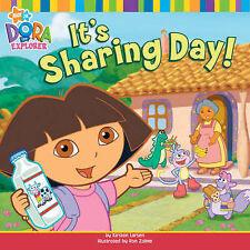 It's Sharing Day! (Dora the Explorer), Nickelodeon, New Book