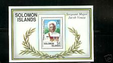 Solomon Islands British Sc 722 S/S MNH F-VF Marine Sergeant Major Jacob Vouza