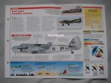 Aircraft of the World Card 30 , Group 10 - Bristol Blenheim Mk IV