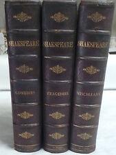 Complete Works of Shakspere (Shakespeare, 3 Volumes, complete), Shakspere (Shake