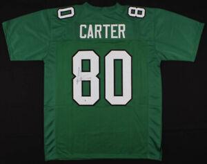 Cris Carter Signed Philadelphia Eagles Jersey (JSA COA) All He Does is Catch TDs