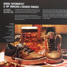 Flyer ADIDAS Oktoberfest and VIP MÜNCHEN, Limited shoes