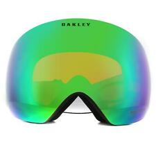 Oakley Ski Lunettes Flight Deck OO7050-89 Noir Mat Prizm Neige Jade Iridium