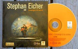 CD-Rom single Stephan Eicher, Louange à la scène, Infonie - Télérama
