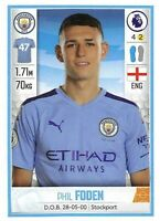 2018-19 Sticker Rookie Card #179 Phil Foden RC - Manchester City
