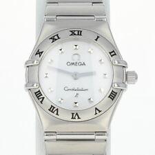 "Omega Constellation ""My Choice"" Mini Ladies Watch Stainless Steel Quartz w/Box"