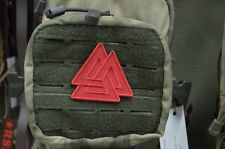 Red FSB Valknut symbol Russian Tactical morale military patch