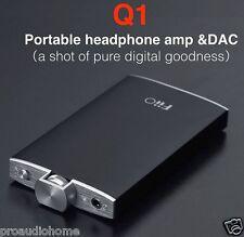 FiiO Q1 Portable USB DAC and Headphone Amplifier (Black) - OFFICIAL FIIO DEALER