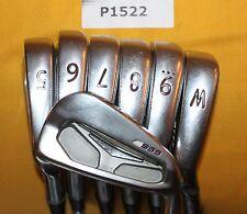 Ping s55 Black Dot 4-W AWT 2.0 Stiff Steel 7 Club Golf Set P1522