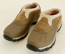 LL Bean Storm Chasers Womens Slip On Rubber Toe Rain Snow Duck Boots 7 M Tek 2.5