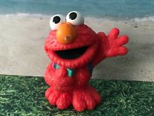 SESAME STREET  ELMO WITH BACKPACK  CAKE TOPPER  FIGURE PLAY DISPLAY