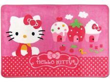 "NEW Hello Kitty & Cupcake Bath/ Shower Rug Mat 21"" x 31.5"" PInk Vivid Colors"