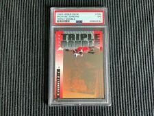 1993/94 UPPER DECK #TD2 MICHAEL JORDAN *TRIPLE DOUBLE PSA 7 NM*  BULLS
