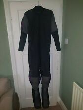 Skydiving Jumpsuit FS RW skywear Black grey purple Skydive Suit Booties