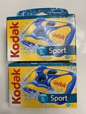 2 Kodak Sport Underwater - Waterproof Disposable 35mm Camera - 27 Exposures