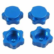 4x 17mm Wheel Hub Hex Nut Anti-dust Cover for 1/8 RC Car buggy truck HSP Axial
