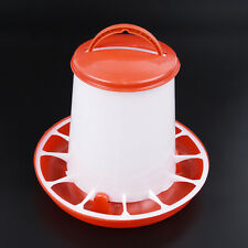 1 Pc Plastic Chicken Quail Poultry Chick Hen Drinker Food Feeder Waterer Eating