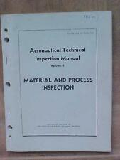 Material & Process Inspection Aeronautical Technical Manual Vol 2 aviation book