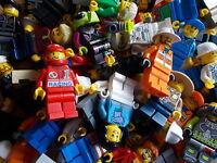 Lego Minifigures / Figures x 10 - (Random Selection / Bundle of  Figures)