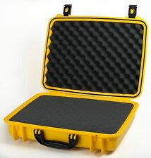 Yellow Seahorse SE710 Case. With Foam. Comes with a Pelican TSA- 1490 Lock.