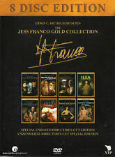 The Jess Franco Gold Collection - 8 Discs - 8 Uncut Franco Movies - DVD..