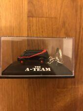New MR T : THE A TEAM : CHEVROLET BLACK VAN - 3D KEYRING KEY RING : ULTRA RARE
