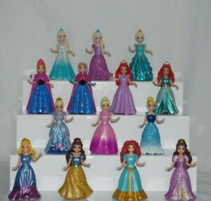 Disney Princess Magiclip Action Figures Changeable Dresses by Mattel You Choose