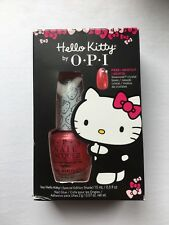 "OPI ""Say Hello Kitty!"" Special Edition Nail Shade With FREE Swarovski Bows"