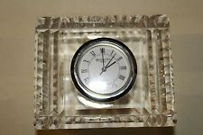 Waterford Crystal Clock - Small Desk Size