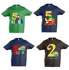 T-Shirt Geburtstag Junge Geburtstagsshirt mit Namen personalisiert viele Motive