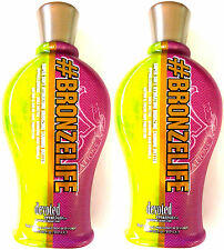 Lot of 2 Devoted Creations #Bronzelife Hydrating Bronzing Tanning Bed Lotion