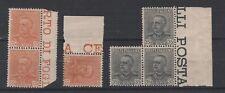 FRANCOBOLLI- 1929 REGNO VITTORIO EMANUELE III - 3 SERIE MNH Z/8554