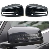 2pcs Rear View Wing Mirror Cover Cap Fit For Mercedes-Benz A B C E Class W176