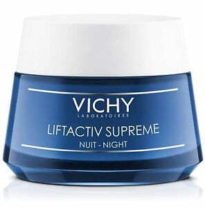 Vichy LiftActiv Supreme Night Cream, Anti Wrinkle Face Firming Cream exp 02/2023