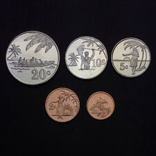 Tokelau set of 5 coins, (1+2+5+10+20 cents), 2012, Unc