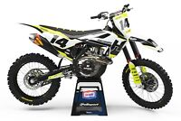 CustomMX - Graphics Kit: Fits Husqvarna TC FC TE FE 50 65 85 125 150 250 350 450