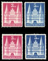 Germany #660-661a MNH CV$400.00 1948 3m CARMINE ROSE 5m BLUE TYPES I/II