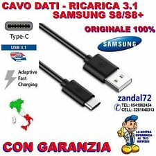 CAVO DATI E RICARICA USB 3.1 TYPE-C ORIGINALE SAMSUNG GALAXY S8 S8+ EP-DG950CBE